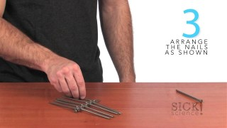 Balancing Nails - Sick Science! - #118