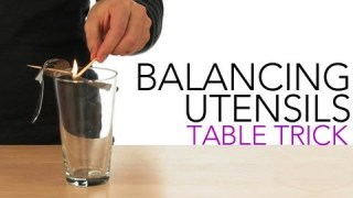 Balancing Utensils Table Trick - Sick Science! #009