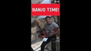 Banjo time with Thomas Pesquet! #shorts