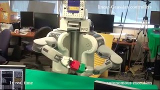 BRETT the Robot learns to put things together on his own