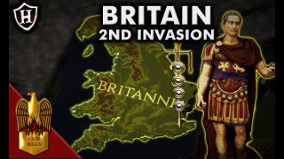 Caesar ?? Second Invasion of Britain, 54 BC