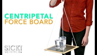 Centripetal Force Board - Sick Science! #191