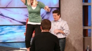 Cornstarch Walk on Water - Spangler on The Ellen Show