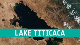Earth from Space: Lake Titicaca