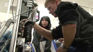ESA astronaut Tim Peake training in Japan