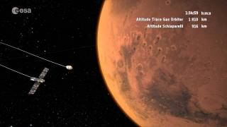 ExoMars 2016 arriving at Mars