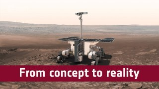 ExoMars Rover: from concept to reality