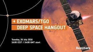 ExoMars/TGO Deep Space Hangout
