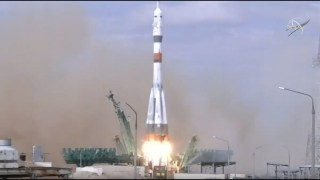 Expedition 63 Launch to the International Space Station