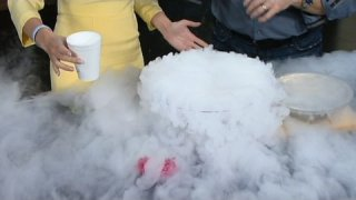 Fun With Liquid Nitrogen - Cool Science Experiment