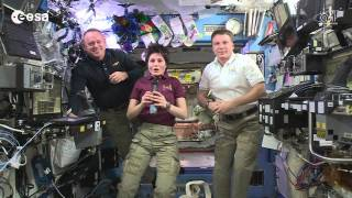 Happy New Year from the ISS (English)