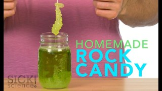 Homemade Rock Candy - Sick Science! #188