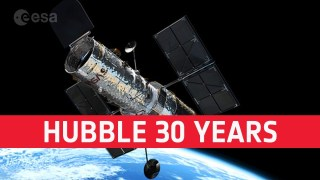 Hubble: 30 years unveiling the universe