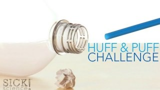 Huff and Puff Challenge - Sick Science! #136