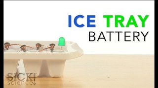 Ice Tray Battery - Sick Science! #204