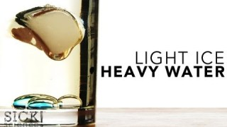 Light Ice Heavy Water - Sick Science! #126