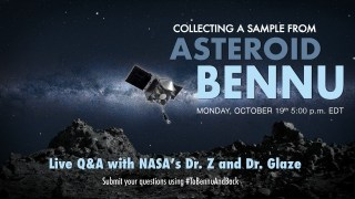 Live Q&A: How NASA Plans to Collect a Sample from Asteroid Bennu