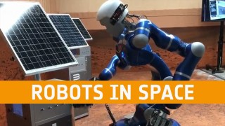 Meet the Experts: Robots in space