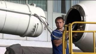 NASA Astronaut and Fellow Crew Members Prepare for Soyuz Rocket Launch