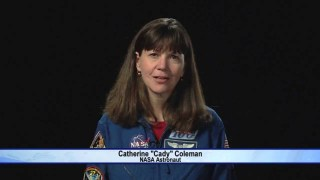NASA Astronaut Cady Coleman on 'Gravity' Oscar Win