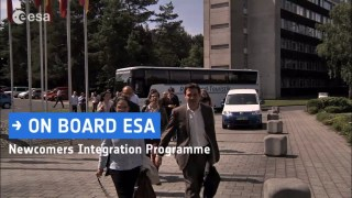 On board - ESA's Newcomers Integration Programme