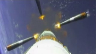 Onboard camera view: launch and separation of Sentinel-1A