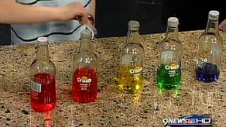 Pop Bottle Sounds - Cool Science Fair Project