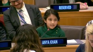Powerful Speech by 10 year old on Artificial Intelligence & Empathy - Girls in Science