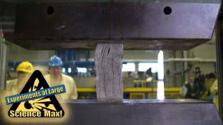 Science Max |HYDRAULIC PRESS| GIANT EXPERIMENTS |