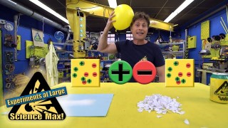 Science Max|BUILD IT YOURSELF|Static Electricity|EXPERIMENT