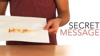 Secret Message - Sick Science! #014