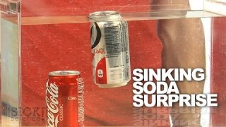 Sinking Soda Surprise - Sick Science! #174