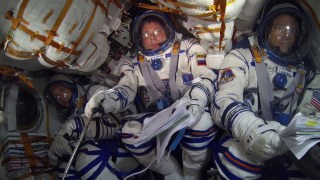 Soyuz ride into space
