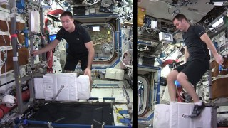 Space Station fitness
