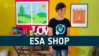 Space up your life with the ESA Shop