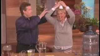 Spangler's Polymer Experiment on The Ellen Show