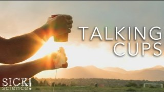 Talking Cups - Sick Science! #091