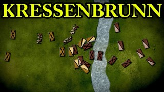 The Battle of Kressenbrunn 1260 AD