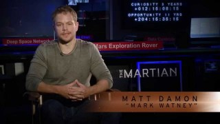 'The Martian' Star Matt Damon Discusses NASA's Journey to Mars