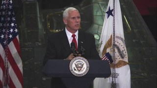 Vice President Pence Visits NASA's Kennedy Space Center