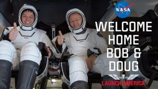 Welcome Home Bob & Doug: Social Media Welcomes #LaunchAmerica Astronauts Home