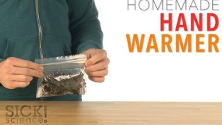 Homemade Hand Warmer – Sick Science! #227