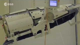 Measuring ESA's IXV spaceplane