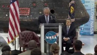 Administrator Discusses the State of NASA
