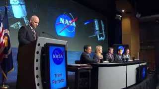 NASA News Conference on Completion of COTS Program