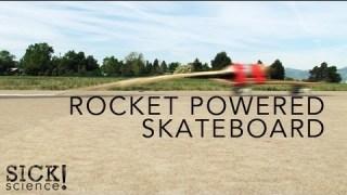 Rocket Powered Skateboard – Sick Science! #090