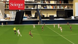 Watch artificial intelligence project a 3D soccer match on your kitchen table