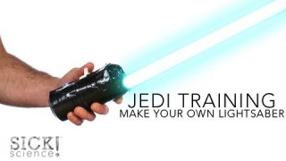 Make Your Own Lightsaber – Sick Science! #137