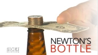 Newton's Bottle – Sick Science! #164