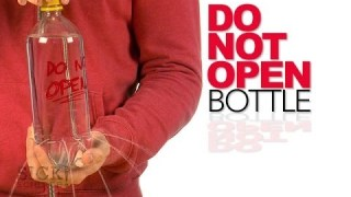 Do Not Open Bottle – Sick Science! #184